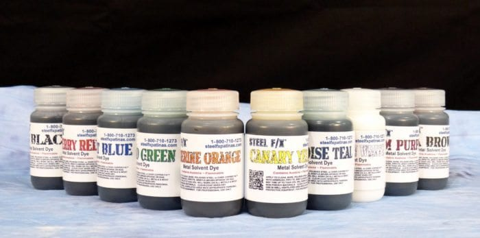 metal solvent dyes set-kit