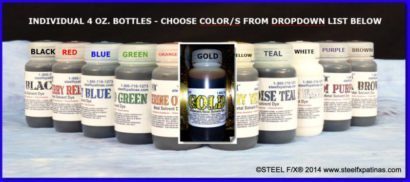 METAL DYES AND STAINS